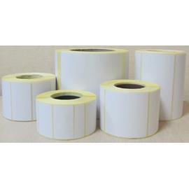 Этикетка 58x30 (рулон 900 шт) полипропиленовая (коробка 60 рулонов)