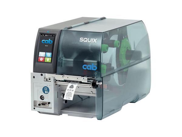 Термотрансферный принтер CAB SQUIX 4 MT печать на текстиле