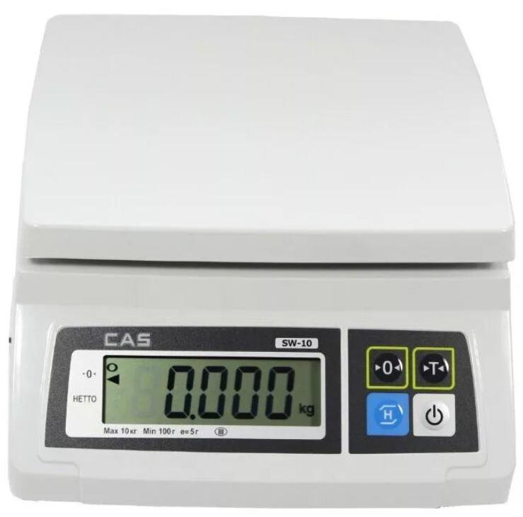 Весы порционные (фасовочные) CAS SW 10