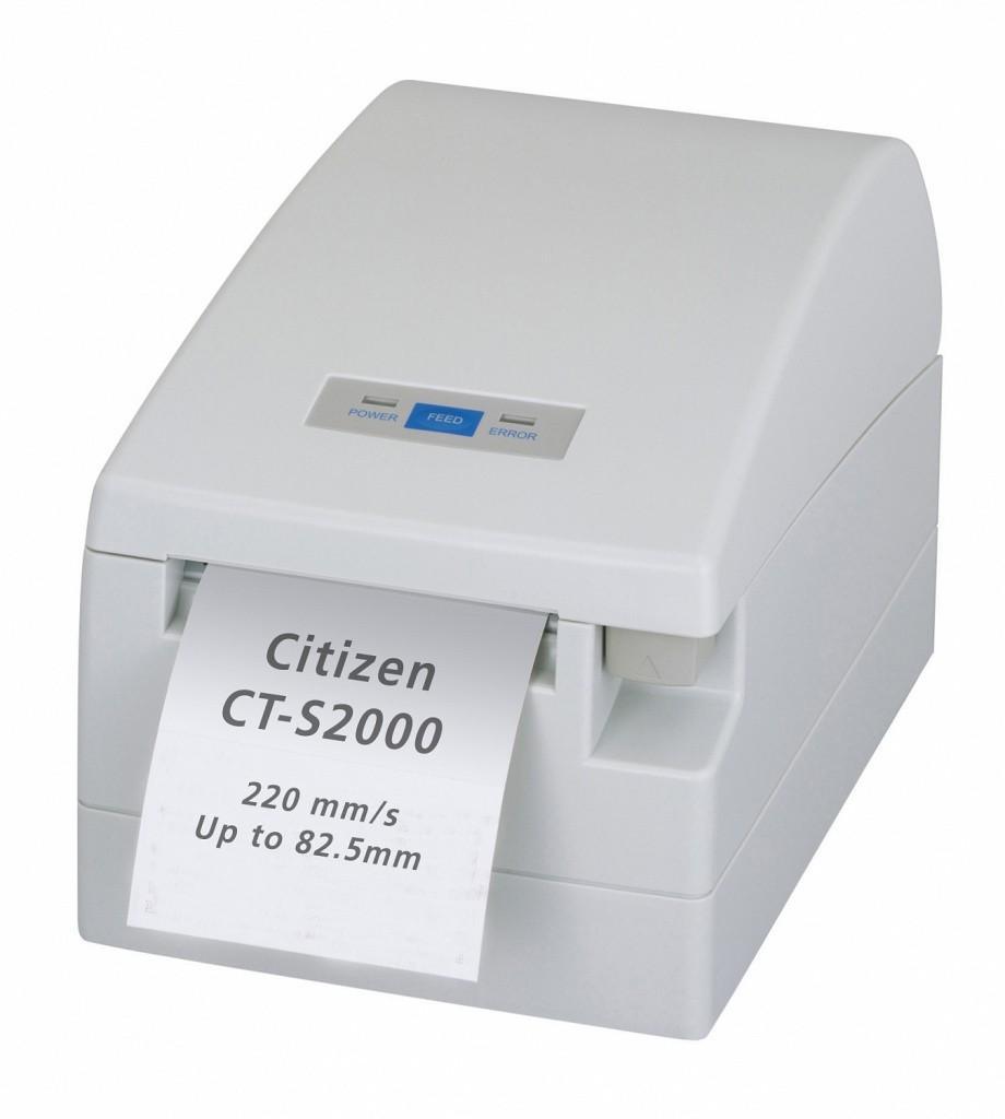 Citizen CT-S2000; USB, Ivory White