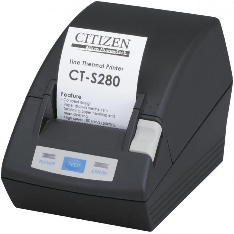 Принтер этикеток Citizen CT-S280; Parallel Black (RS-232)
