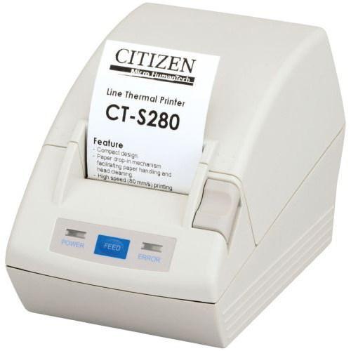 Citizen CT-S280; Serial, White