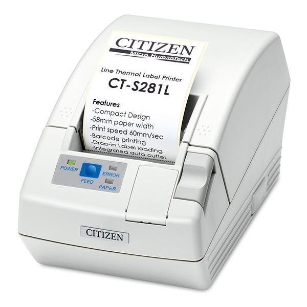 Citizen CT-S281L; USB, White