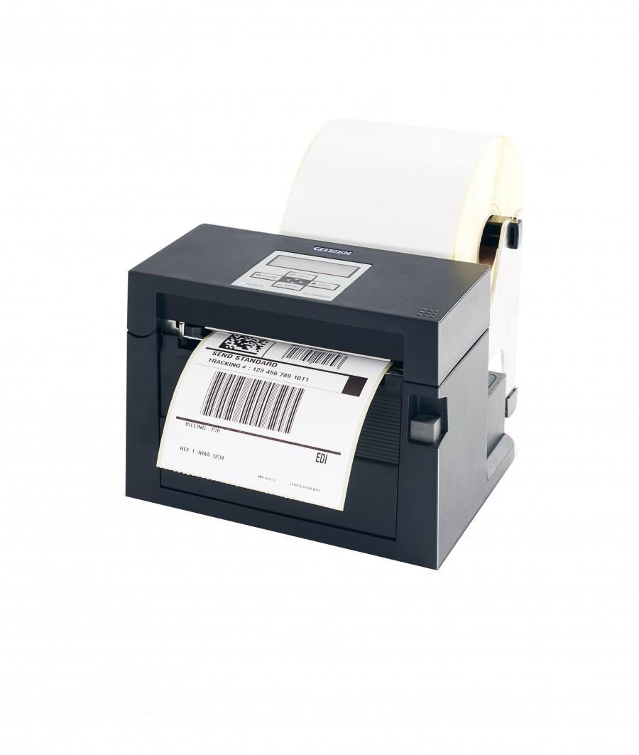 Термопринтер этикеток Citizen CL-S400DT, серый