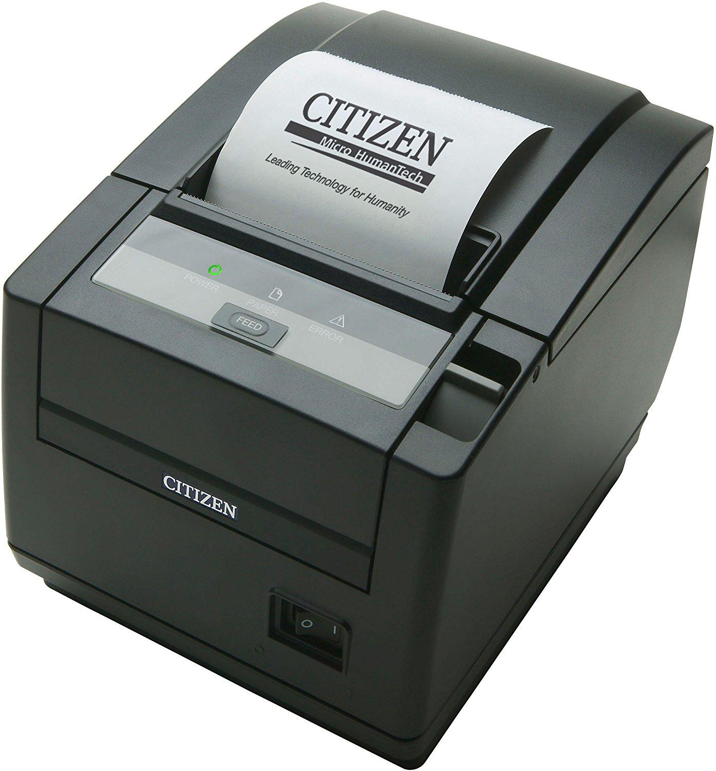 Citizen CT-S601II; Bluetooth interface, Black
