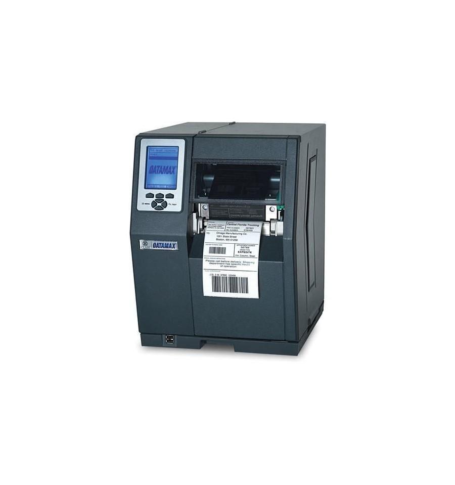 Datamax H-4606X - 4in-600 DPI,6 IPS,Datamax Std Kit,Bi-Directional TT,220v Black Power Cords, British And European,Internal Rewinder,3.0in Metal Media Hub