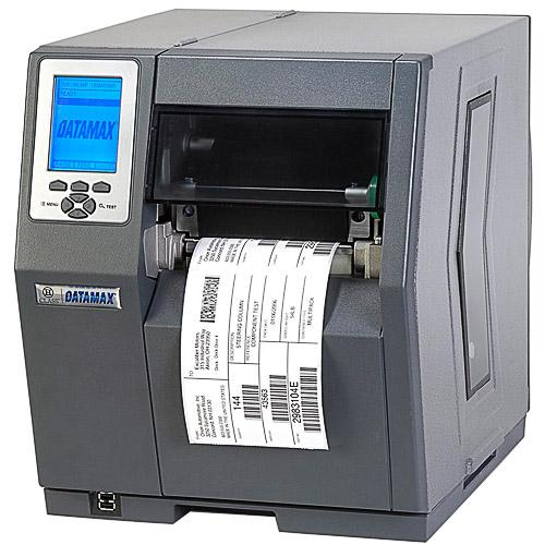 Термотрансферный принтер Datamax H-4212 - 4inch-203 DPI, 12 IPS, Bi-Directional TT Printer, 220v: Straight in EU Plug, Internal Rewinder, 3.0inch Plastic Media Hub