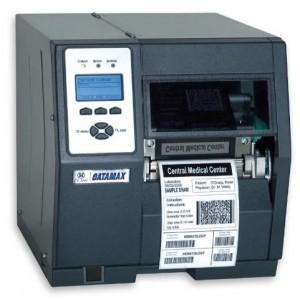 Datamax H-4310 - 4in-300 DPI, 10 IPS,Standard Kit,Bi-Directional TT,110v U.S. Plug,Internal Rewinder,Linear Barcode Scanner,3.0in Plastic Media Hub