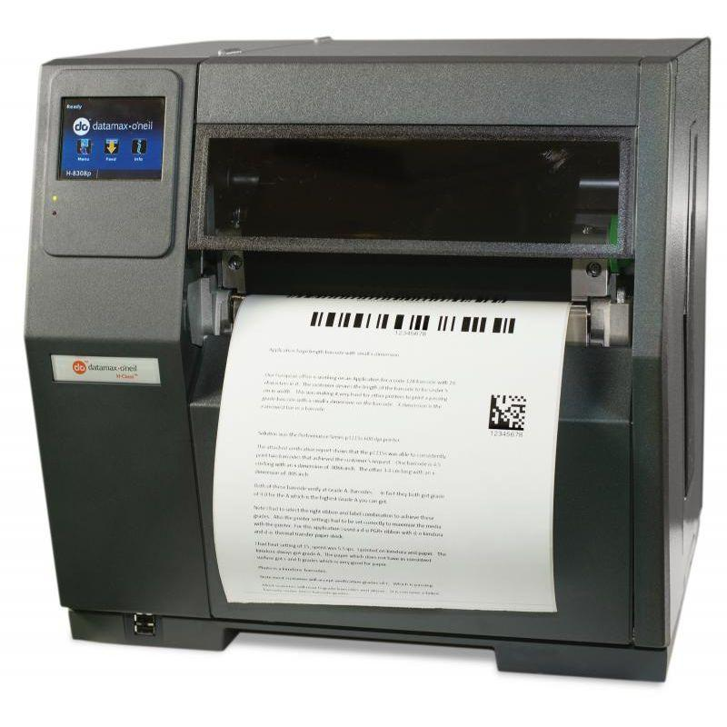 Datamax H-8308p - 8´-300 DPI, TT, AUSTRALIAN CORD, 3 INCH MEDIA HUB