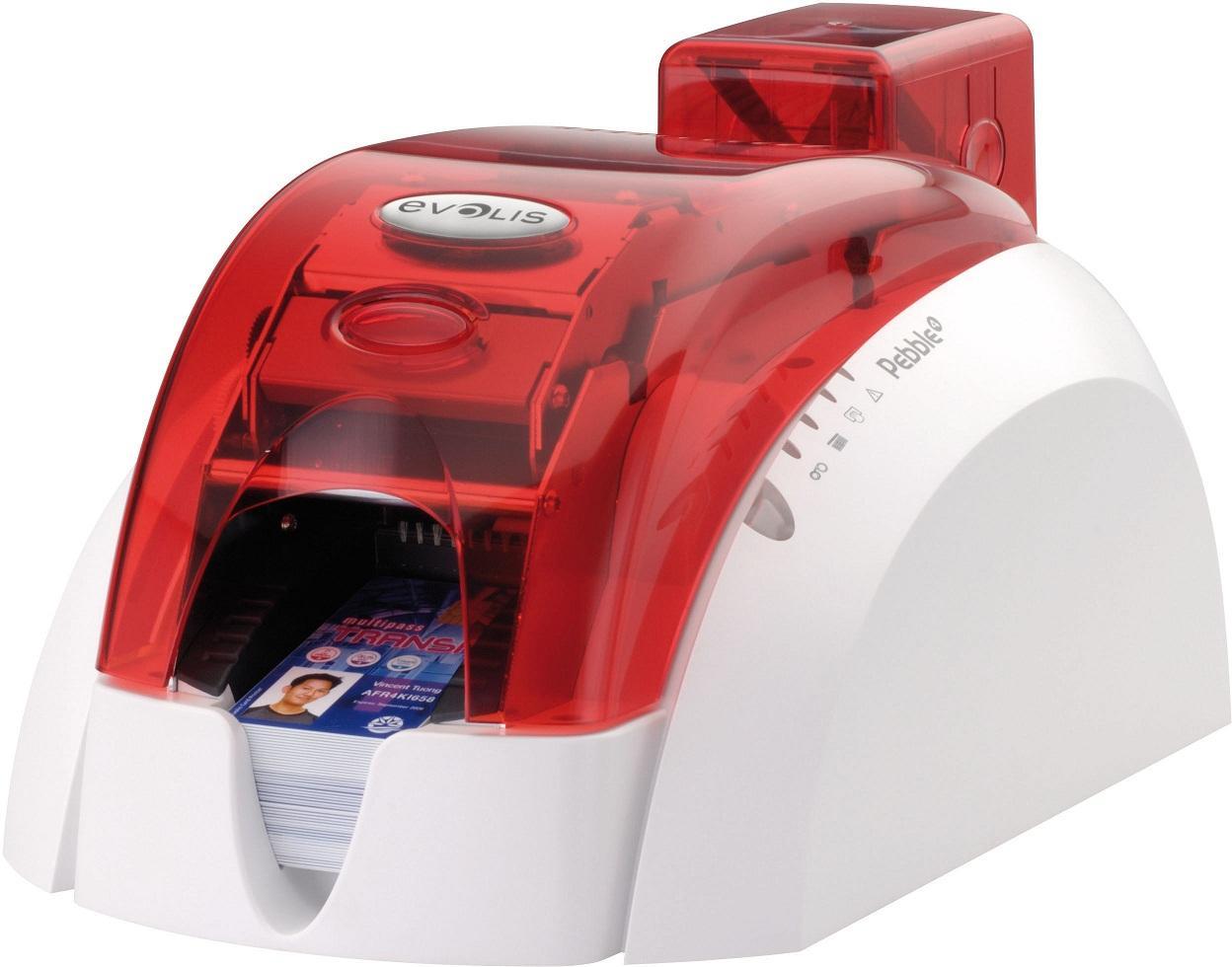 Принтер пластиковых карт Evolis Pebble4 USB+Ethernet