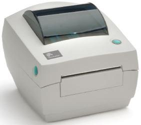 Zebra GC420d (203 dpi, 102 мм, 102 мм/сек, RS232, LPT, USB, диспенсер)