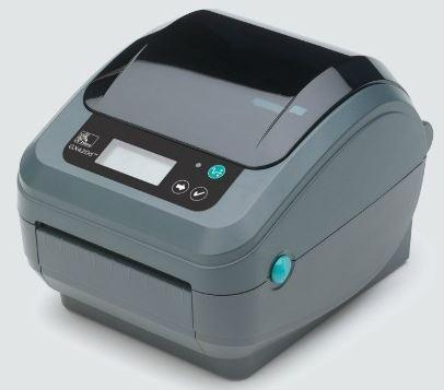 Zebra GX420d; 203dpi, USB, RS232, 802.11b/g, LCD, Dispenser (Peeler)