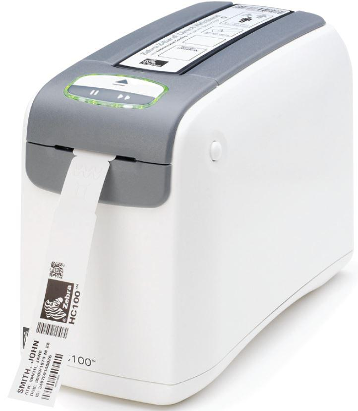 Термопринтер этикеток Zebra HC100, 300 dpi, USB, RS232, 10/100 Internal Print Server, Flash 8MB