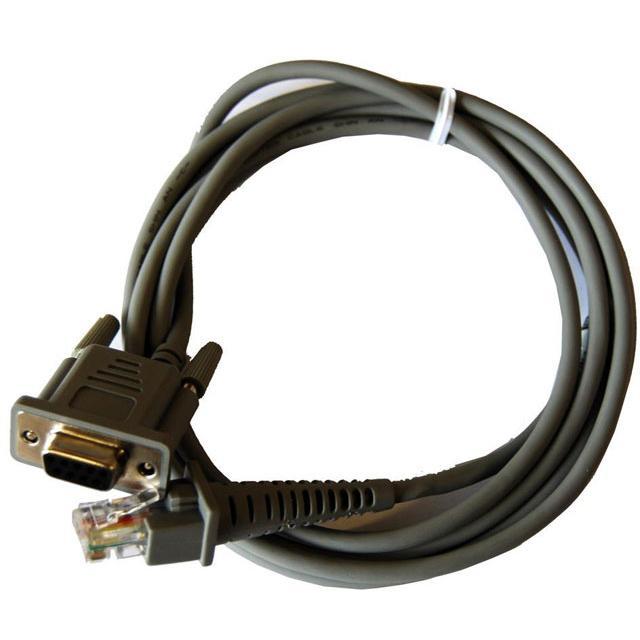 Кабель RS232, 3,7 м, прямой для сканера штрих-кода Honeywell Stratos 2400