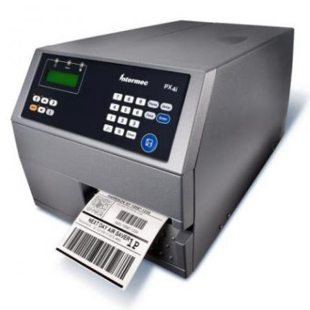 Intermec PX4i, TT, 400dpi, LPT, Ethernet, Self Strip, Label Taken Sensor