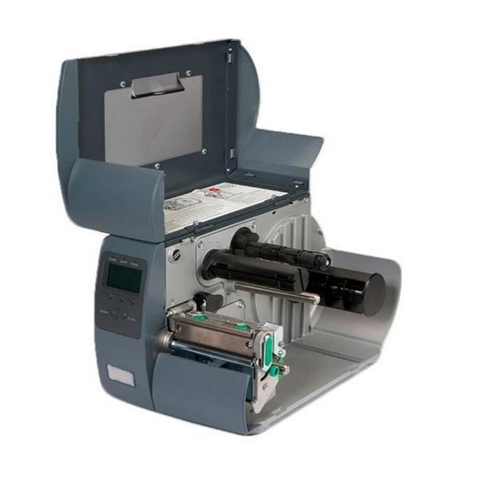 Datamax M-4206 - 4inch-203 DPI, 6 IPS, Printer with Graphic Display, Bi-Directional TT, 220v: Straight-In Swiss Plug, Internal LAN Option, 3.0inch Media Hub