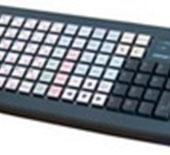 Программируемая клавиатура  Posiflex KB-6800 c ридером 1-2 дорожки
