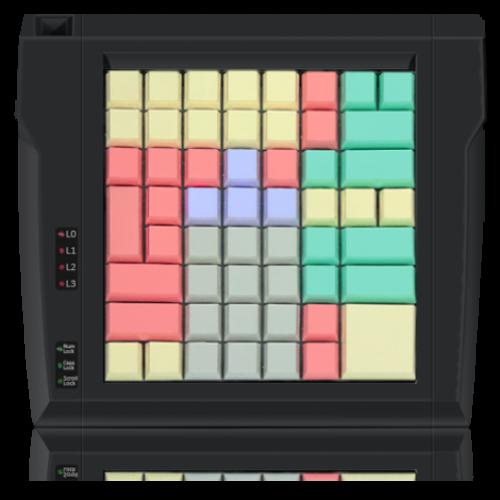 стандартного типа Posua LPOS 64 клавиши, без считывателя (RS232) (Black)