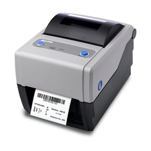 SATO CG408 TT, USB + RS232 Printer, ZPL + SBPL emulation