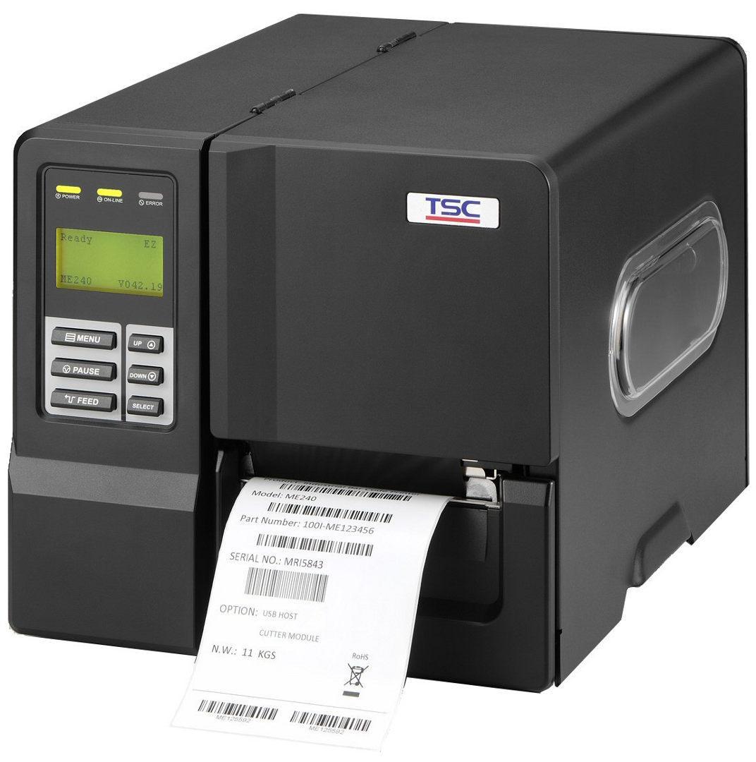 Термотрансферный принтер TSC ME240 LCD Ethernet/USB Host