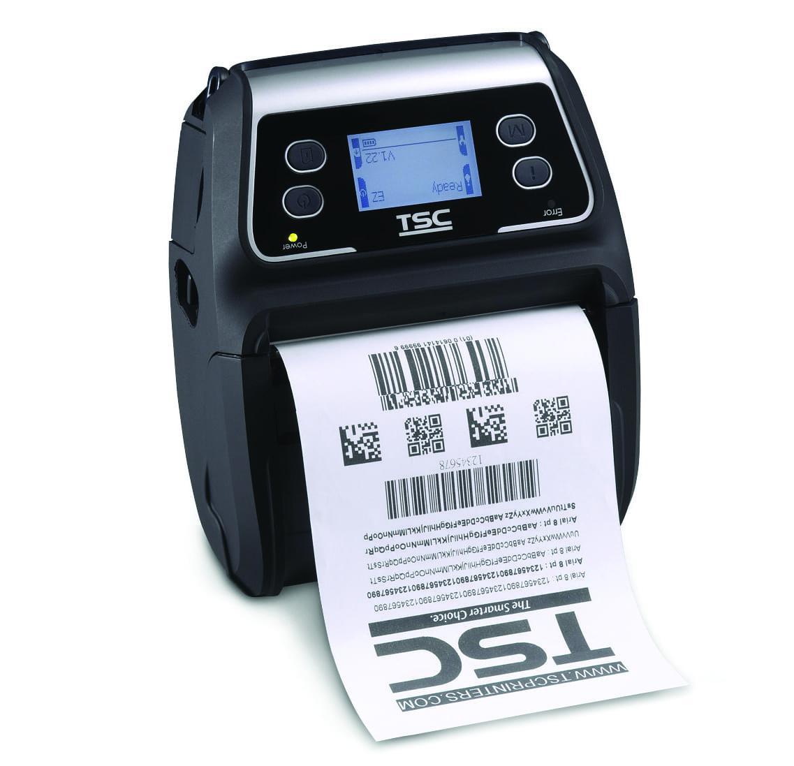 TSC Alpha-4L + MFi Bluetooth + LCD