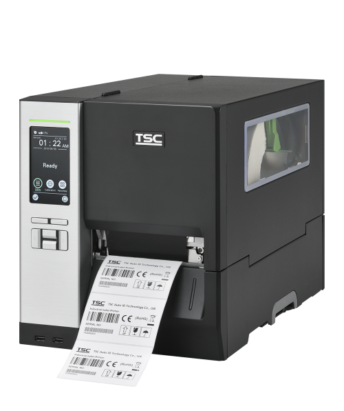 TSC MH240P thermal transfer printer, 203 dpi, 14 ips - with LCD & Touchscreen