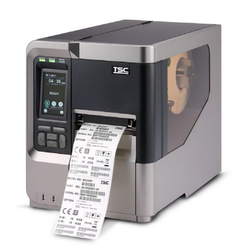 Термотрансферный принтер TSC MX340P, 300 dpi, 14 ips