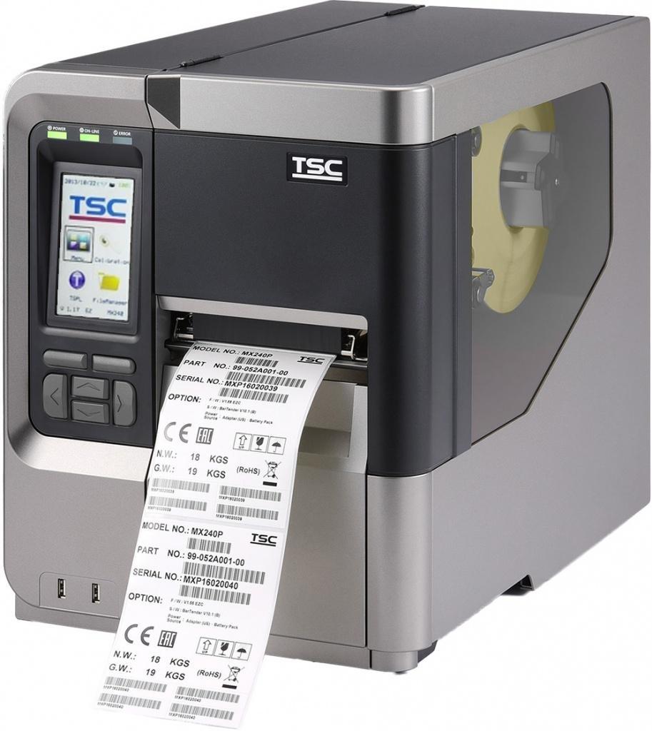Термотрансферный принтер TSC MX640P, 600 dpi, 6 ips