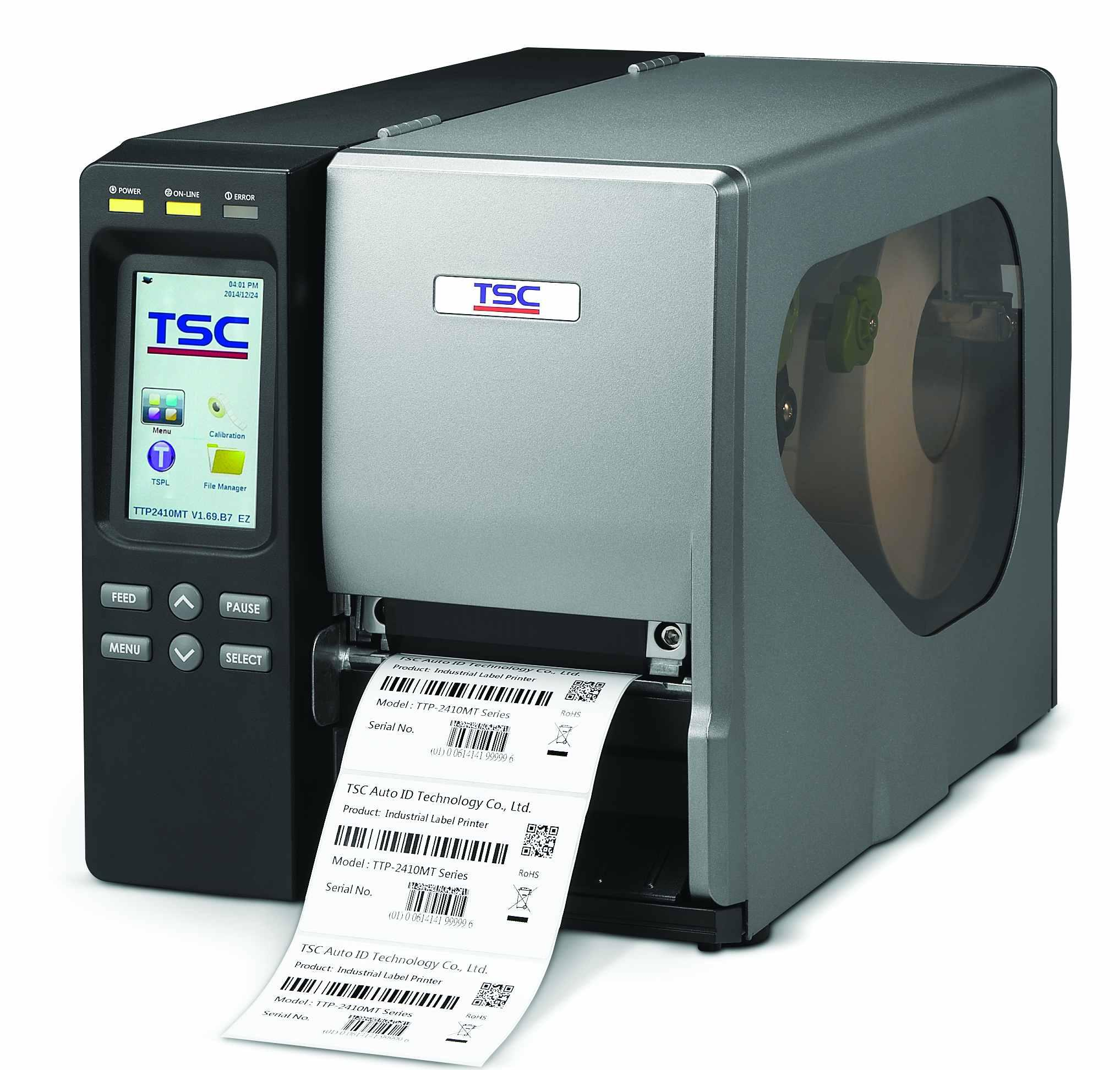 Термотрансферный принтер TSC TTP-2410MT, 203 dpi, 14 ips