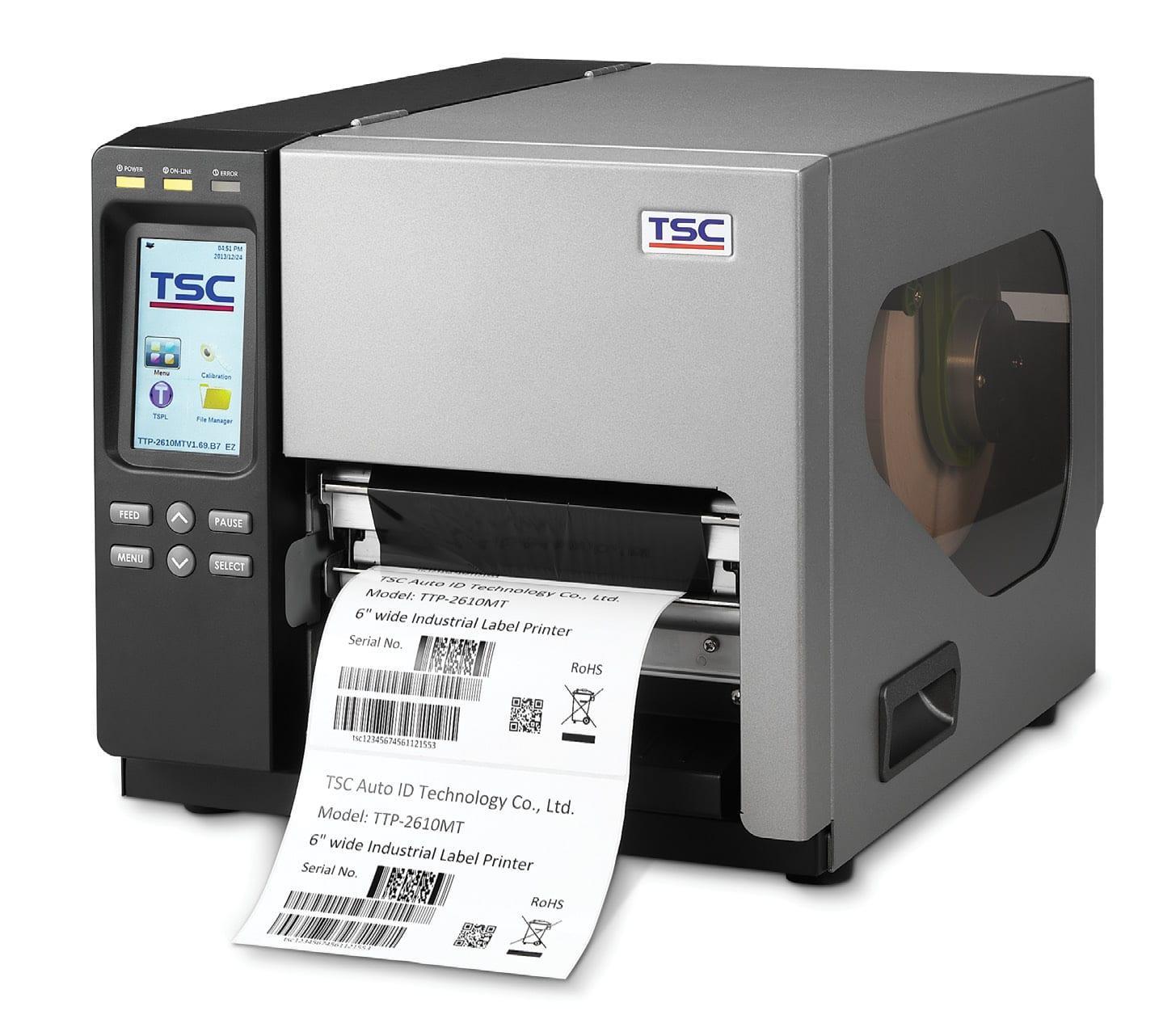 TSC TTP-368MT, 300 dpi, 10 ips