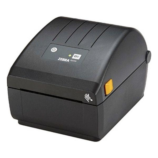 Zebra ZD220d Direct Thermal Printer ZD220; Standard EZPL, 203 dpi, EU/UK Power Cord, USB, Dispenser (Peeler)