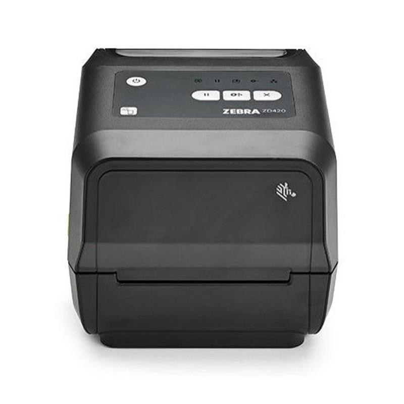 Термотрансферный принтер Zebra ZD420t 203 dpi, USB, WiFi, BT