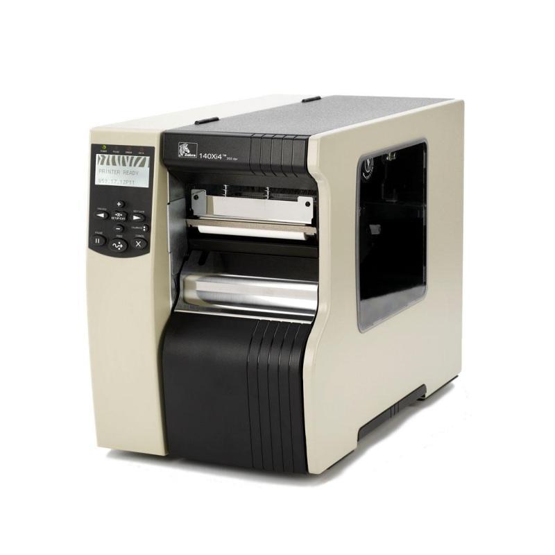 Zebra 110Xi4 151 мм/сек, 600 dpi, ширина печати 102 мм, Ethernet с ножом и накопителем
