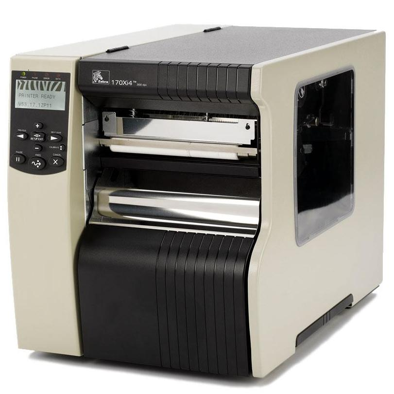 Термотрансферный принтер Zebra 140Xi4 (356 мм/сек, 203dpi, ширина печати 128 мм, Ethernet) со смотчиком