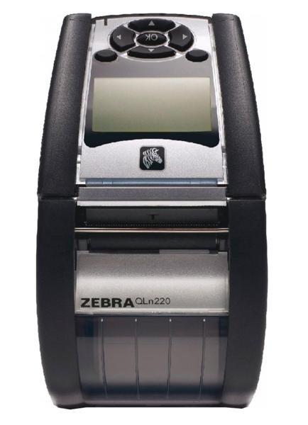 Zebra QLn 220 (ширина печати - 48 мм), 802.11a/b/g/n, Bluetooth 3.0 (Dual Radio)