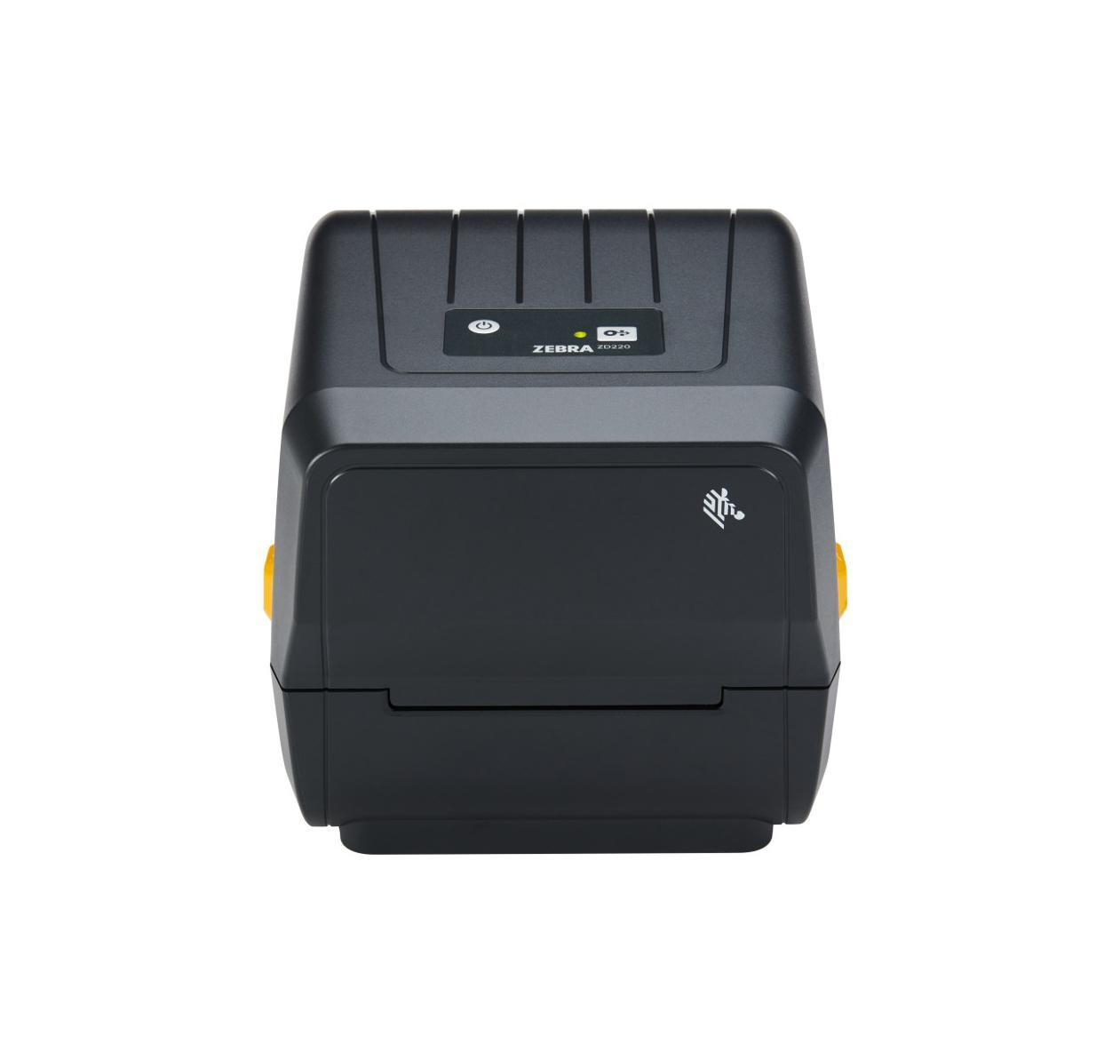 Zebra ZD230t Thermal Transfer Printer (74/300M) ZD230; Standard EZPL, 203 dpi, EU and UK Power Cords, USB