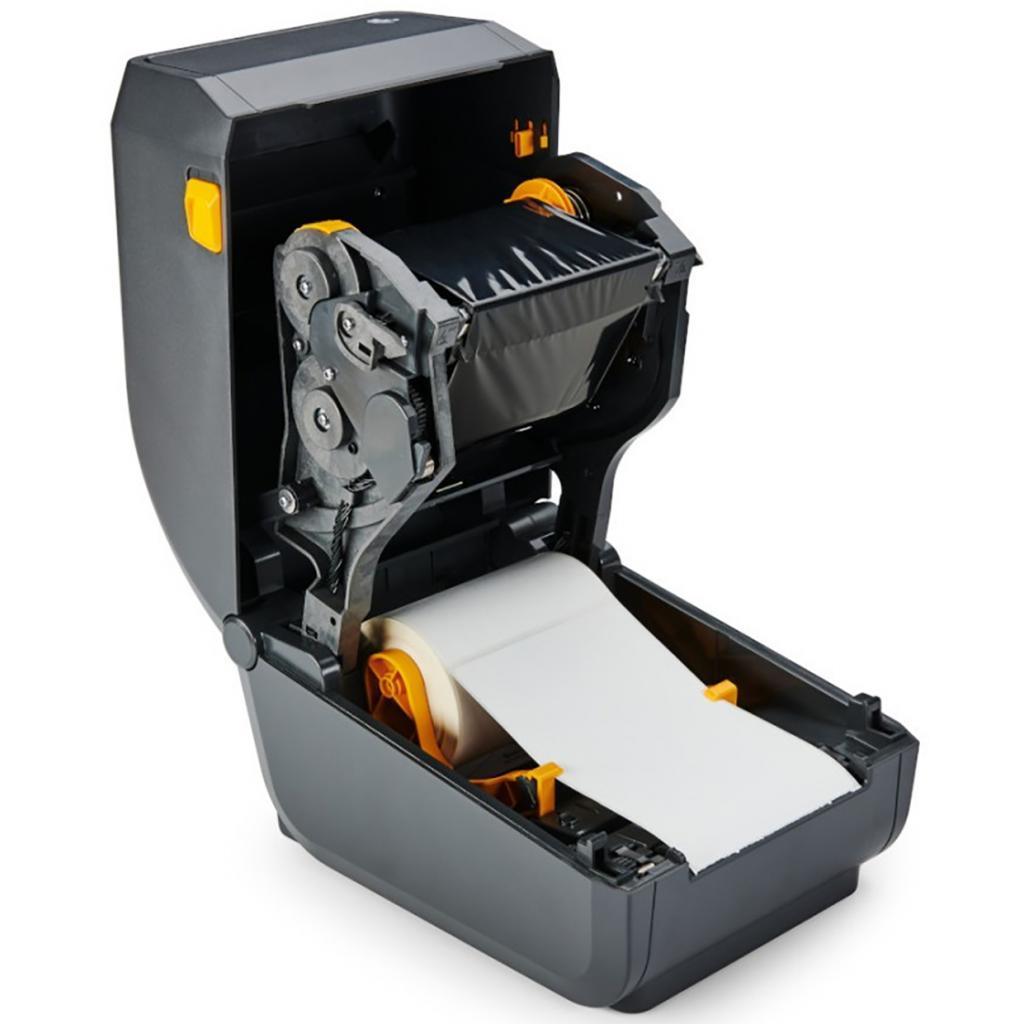 Термотрансферный принтер этикеток Zebra ZD230t EZPL, 203 dpi, USB, риббон 74/300M, Cutter