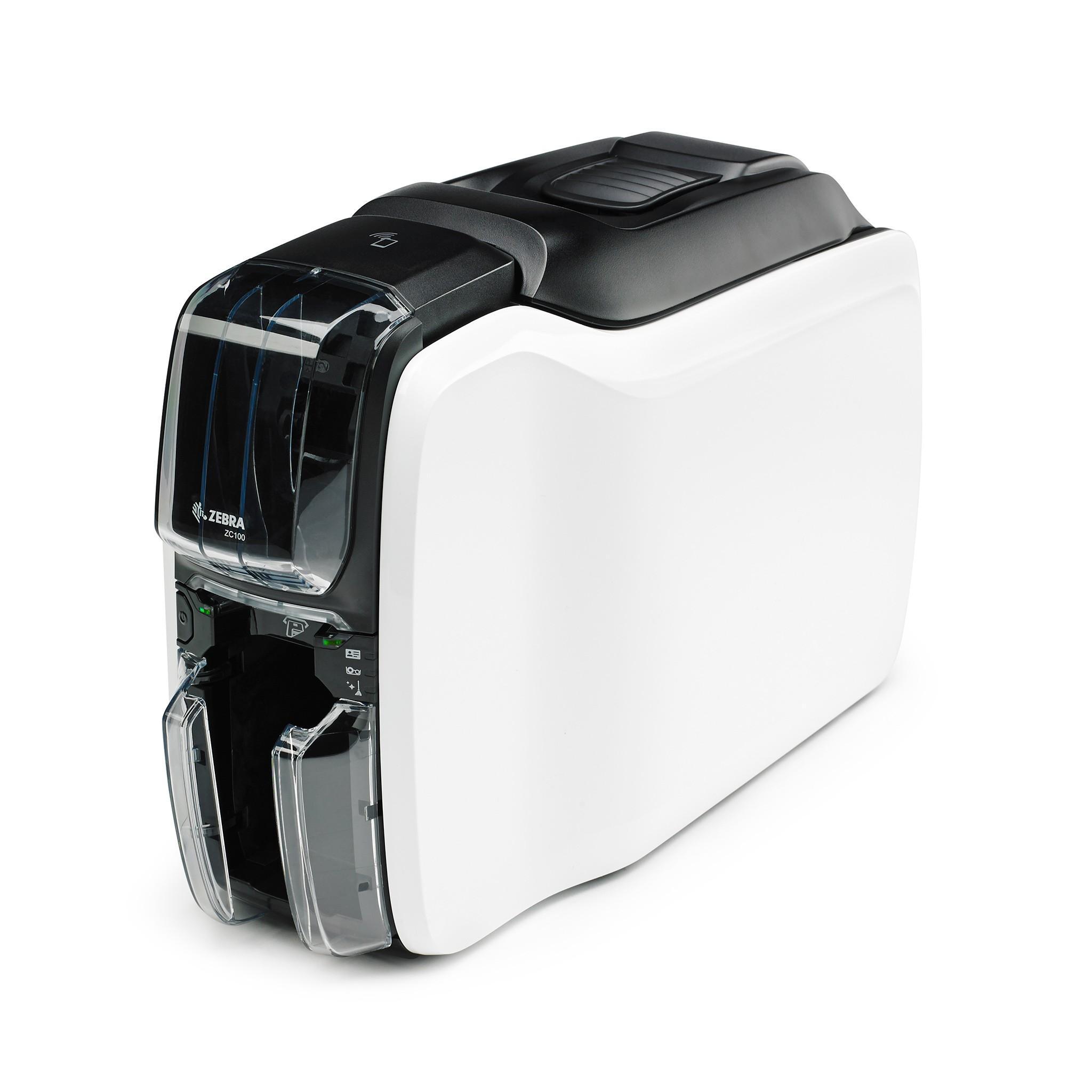 Принтер для пластиковых карт Zebra ZC100, USB
