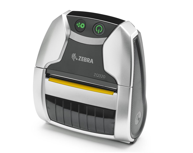 Zebra DT Printer ZQ320; Bluetooth, Linerless, No Label Sensor, Outdoor