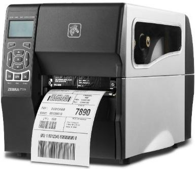 Zebra ZT230 DT 300 dpi, RS232, USB, Int 10/100, Cutter with Catch Tray