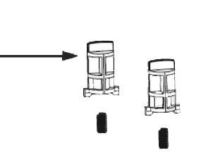Прижимной механизм печатающей головки Z6000, Z6M, Z6M+
