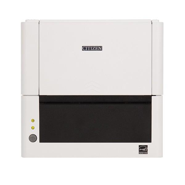 Термопринтер этикеток Citizen CL-E321 Printer; LAN, USB, Serial, White, EN Plug-1