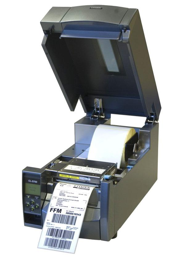 Термопринтер этикеток Citizen CL-S700DT-1