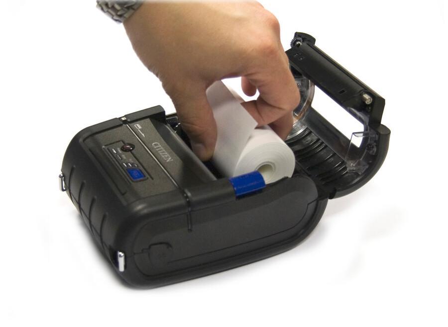 Citizen CMP-20II Printer; Bluetooth (iOS+And), USB, Serial, CPCL/ESC-2