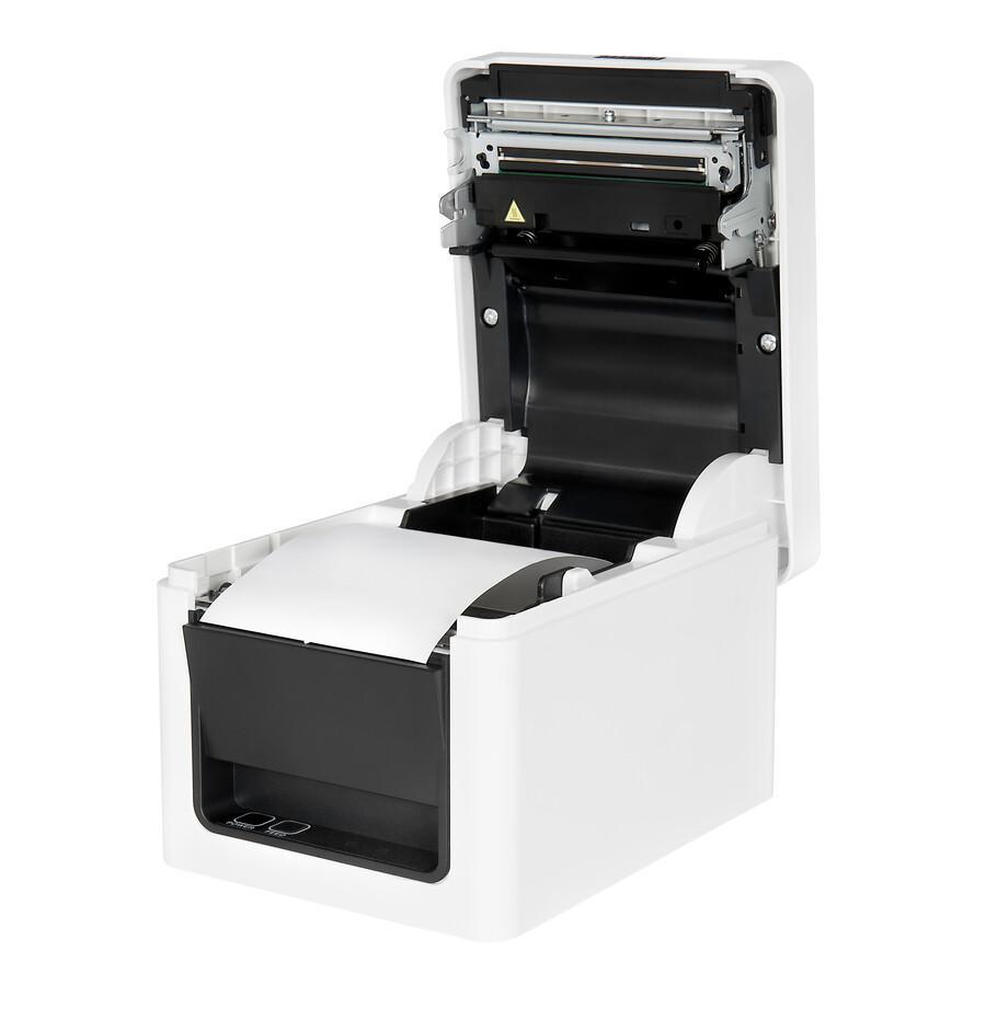 Citizen CT-E351, Ethernet, USB, Pure White-2