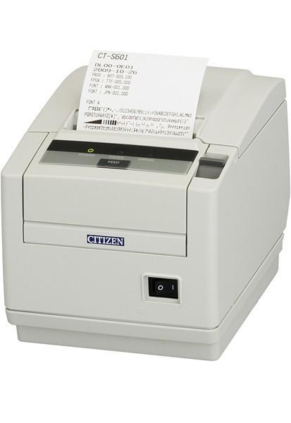 Citizen CT-S601II; No interface, Ivory White