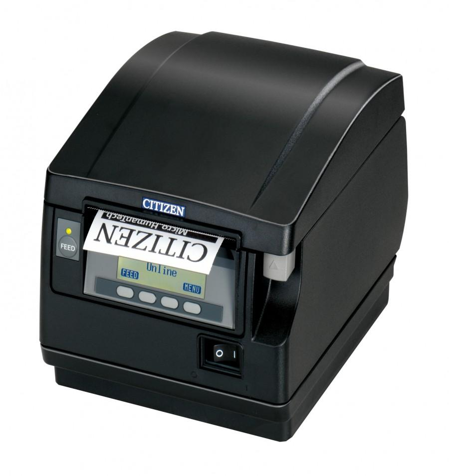 Citizen CT-S851II Printer; No PSU (DC 24V), No interface, Black