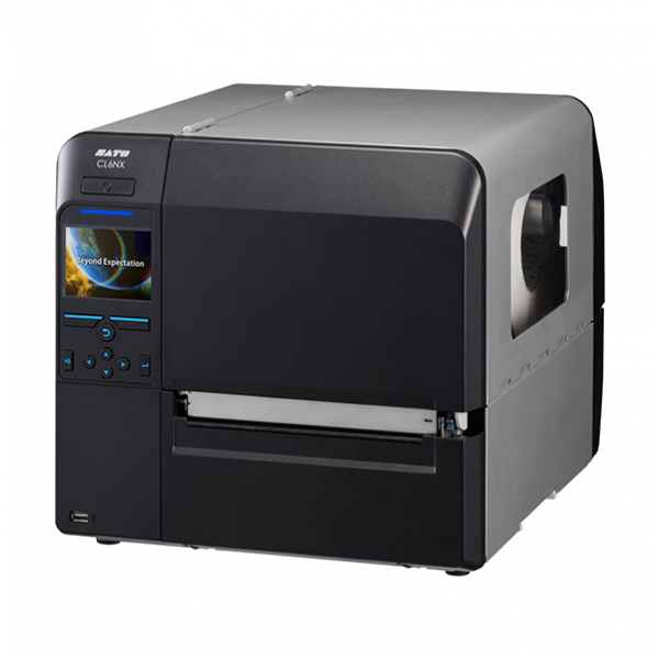 SATO CL6NX 203dpi with Cutter and WLAN + EU power cable