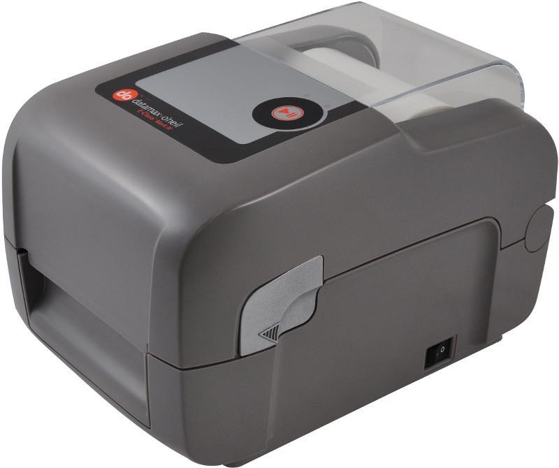 Datamax E-4204B,Direct Thermal 203dpi,4 ips,LED/Button UI,Serial USB,Media guide chute European&British power cord