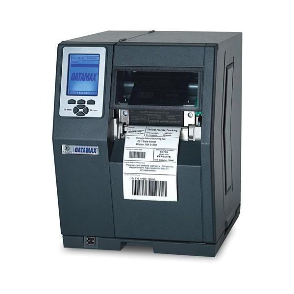 Datamax H-4212X 203 dpi, LCD Graphic display, TT 8 MB Flash, Euro & British cord, Present Sensor with Internal rewinder, Liner Barcode Scanner to check printed barcodes, 3 inch media hub